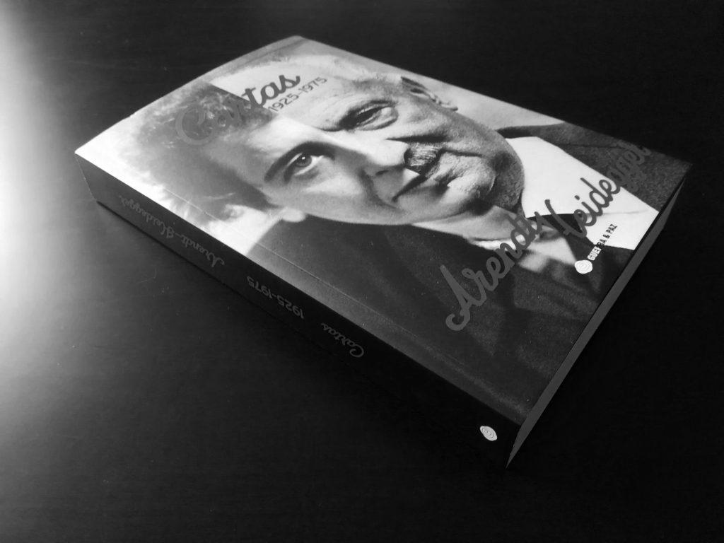 Recensão do livro Hannah Arendt & Martin Heidegger, Cartas 1925-1975 (Guerra e Paz, 2017)