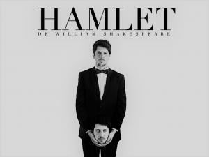 Antevisão da peça de Shakespeare Hamlet, produzida pela Filho do Meio, com tradução de Fernando Villas-Boas, que estreia a 8 de Janeiro no Teatro do Bairro | INTRO