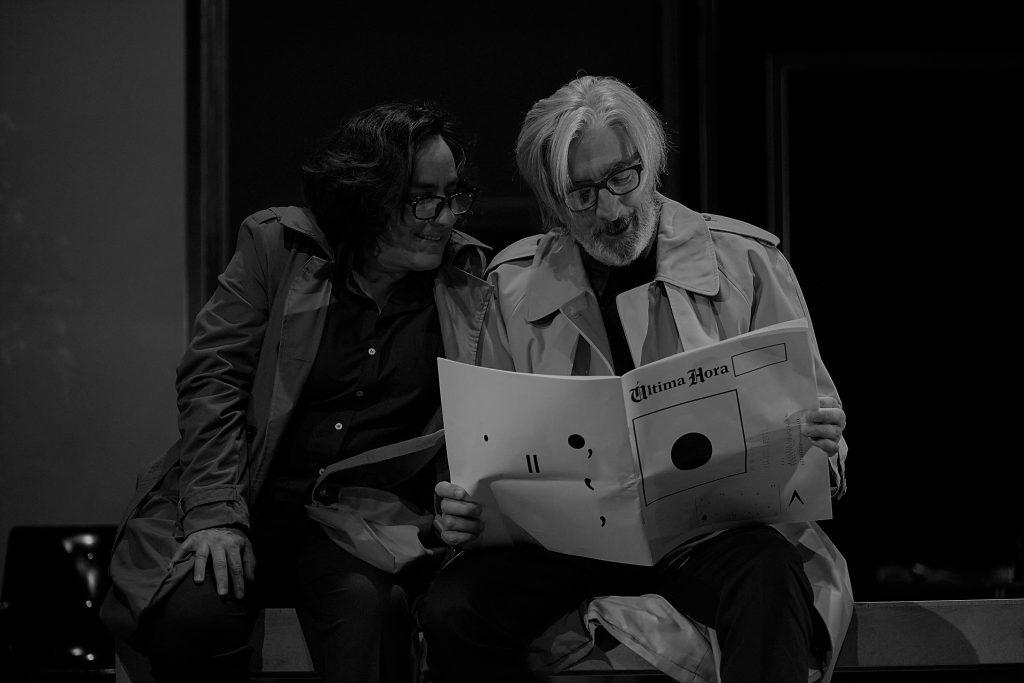 """Reportagem/opinião acerca da peça """"Última Hora"""" no Teatro Nacional D. Maria II, na récita do passado dia 23 de Outubro de 2020   INTRO"""