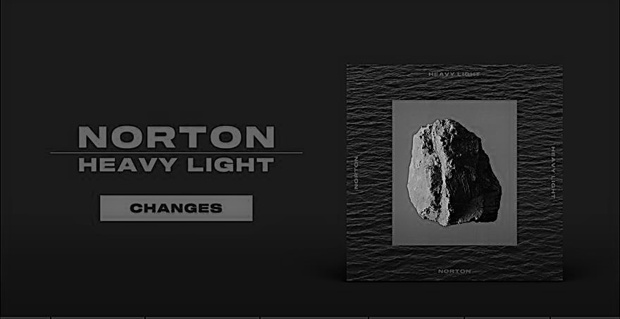 Crítica do novo álbum da banda portuguesa Norton, com o título Heavy Light e lançado em Portugal em 2020 pela editora Skud & Smarty | INTRO
